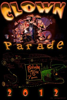 Clown parade 2012 poster web