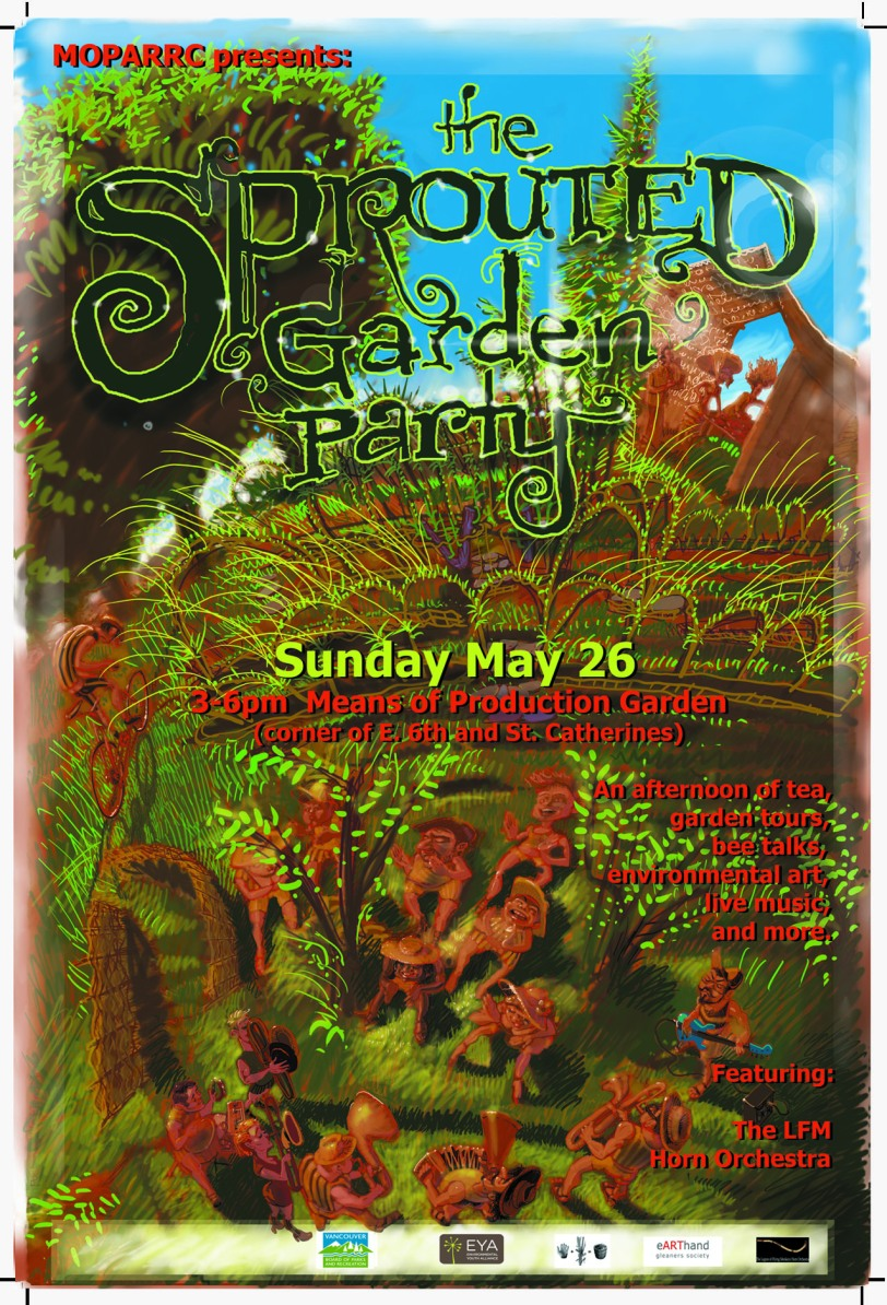 Means of Production Tea Party may 26 flyer