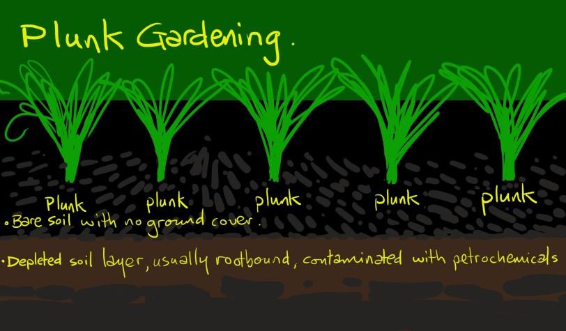 plunk gardening