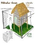 Pollinator house schematic 2014