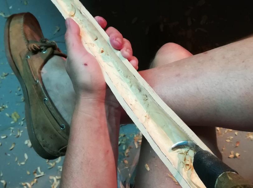 pine segment half